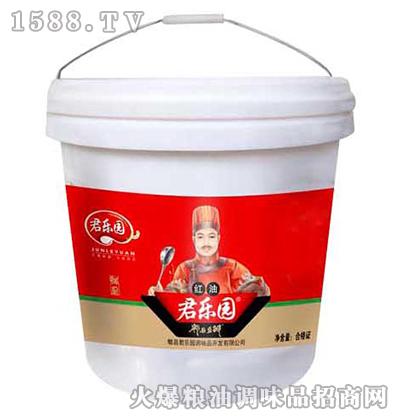 红油郫县豆瓣酱桶装-君乐园