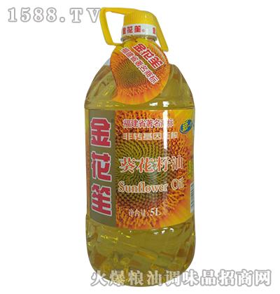 葵花籽油5L-金花笙