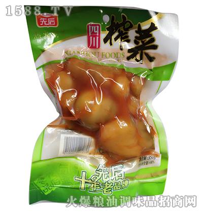辣榨菜350g
