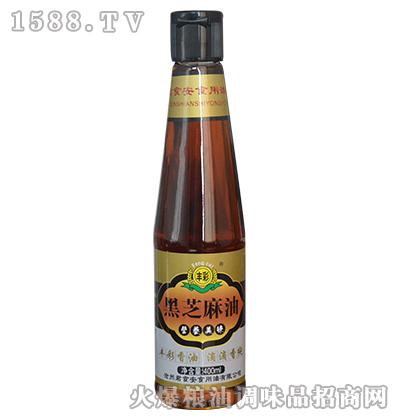 黑芝麻香油400ml-丰彩