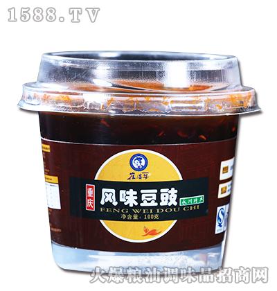风味豆豉100g-崔婆婆