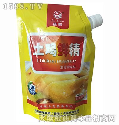 土鸡鲜精复合调味料200g-绿联