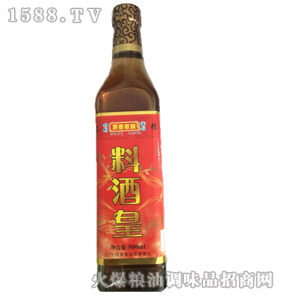 料酒皇500ml-顶香