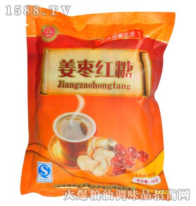 姜枣红糖350g-新虹