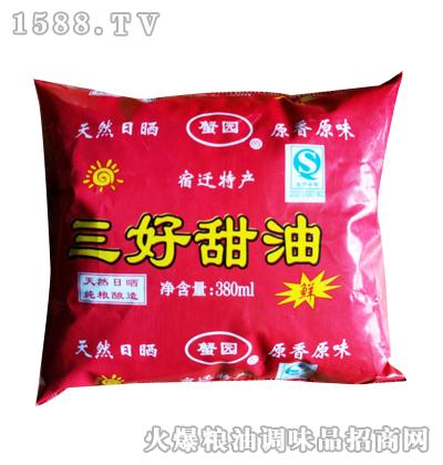 三好甜油380ml-蟹园
