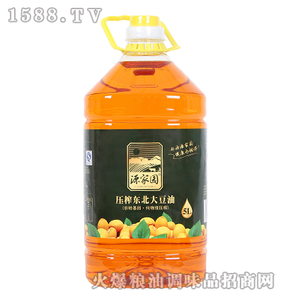 初榨东北大豆油5L-源家园