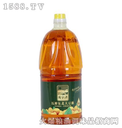 初榨东北大豆油1.8L-源家园
