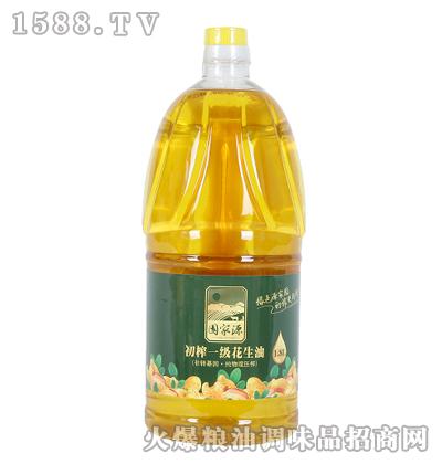 初榨一级花生油1.8L-源家园