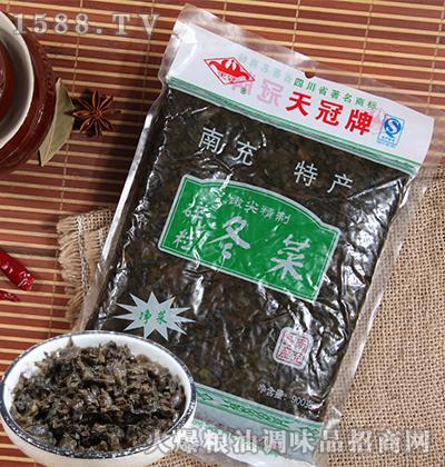 净洗碎粒冬菜900克(嫩尖精制)-天冠