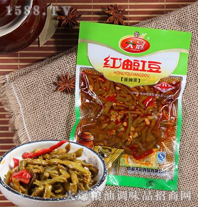 红油豇豆酱腌菜160克-天冠