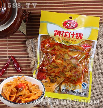 黄花什锦酱腌菜160克-天冠
