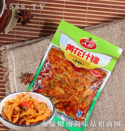 黄花什锦酱腌菜120克-天冠