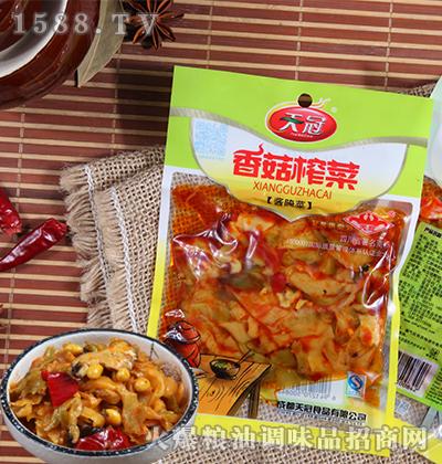 香菇榨菜酱腌菜120克-天冠