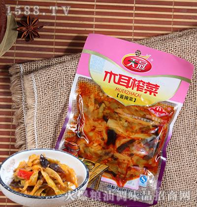 木耳榨菜酱腌菜120克-天冠