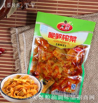 脆笋榨菜酱腌菜120克-天冠