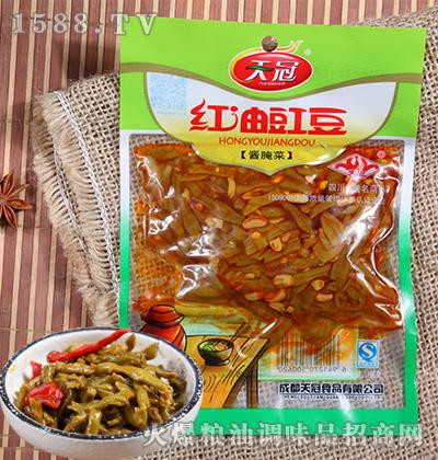 红油豇豆酱腌菜106克-天冠