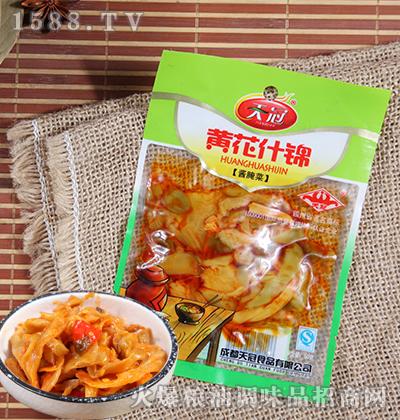 黄花什锦酱腌菜50克-天冠