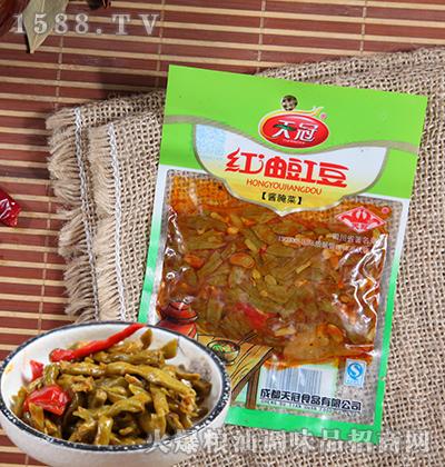 红油豇豆酱腌菜50克-天冠