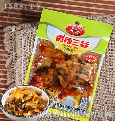 香辣三丝酱腌菜50克-天冠