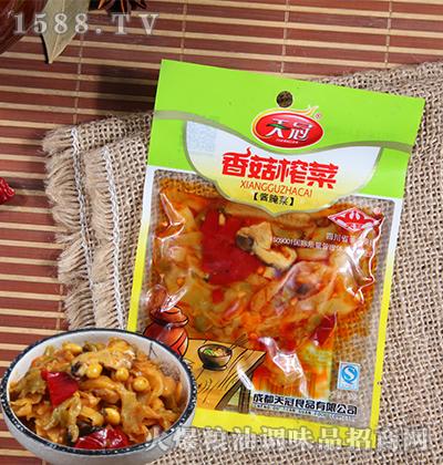 香菇榨菜酱腌菜50克-天冠