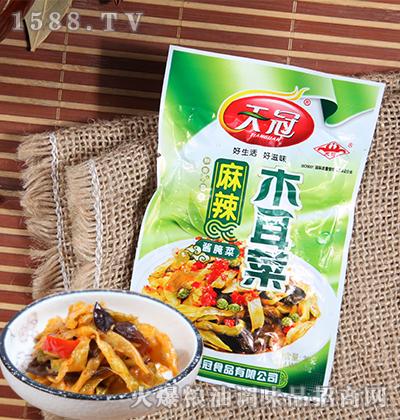 麻辣木耳菜酱腌菜30克-天冠