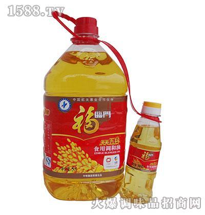福临门天天五谷食用调和油5升