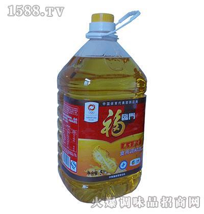 福临门花生原香食用调和油5升