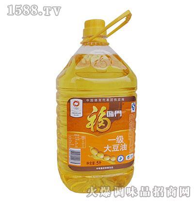 福临门一级大豆油5L(桶)