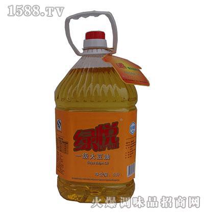 绿悦一级大豆油5升
