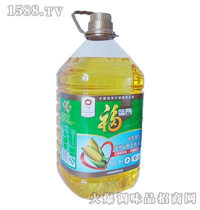 福临门非转基因植物甾醇玉米油5升