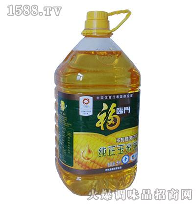 福临门非转基因压榨纯正玉米油5升