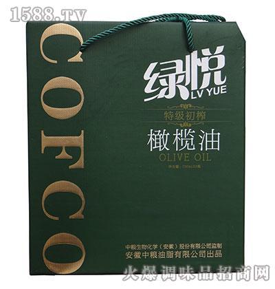 绿悦特级初榨橄榄油礼盒