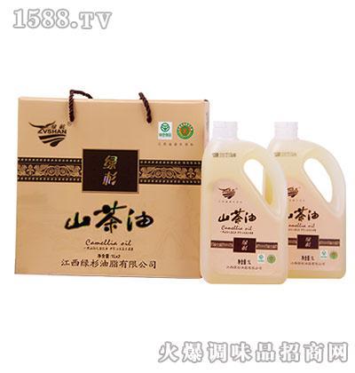 绿杉山茶油