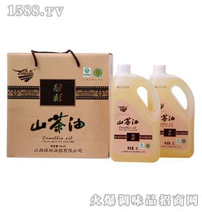 绿杉山茶油礼盒2L