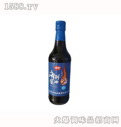 海帝海鲜酱油500ml