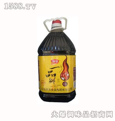 海帝一品鲜酱油4.5L