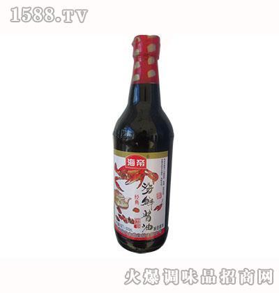 海帝经典海鲜酱油500ml
