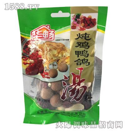 华畅炖鸡鸭鸡汤料(80g)