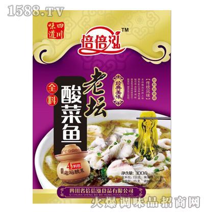 倍倍泓老坛酸菜鱼调料300g
