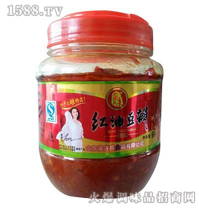 老乡味红油豆瓣500克