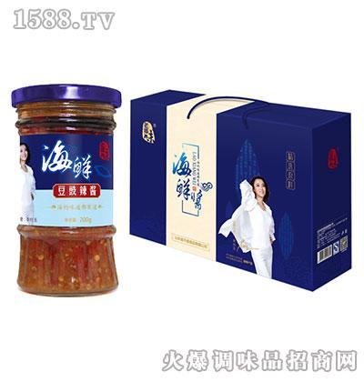 老乡味海鲜豆豉辣酱200克(礼盒)