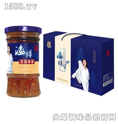 老乡味海鲜香椿辣酱200克(礼盒)