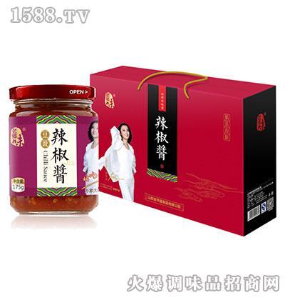 老乡味豆豉辣椒酱175克