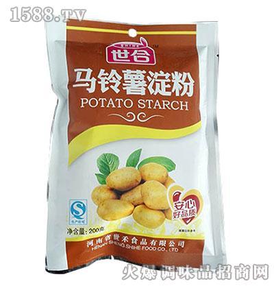 世合马铃薯淀粉200g