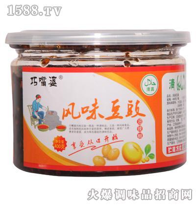 巧嘴婆风味豆豉400g