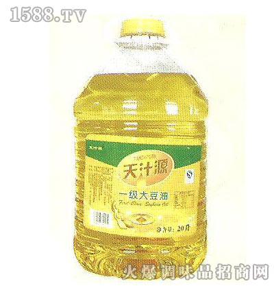 华源一级大豆油20L