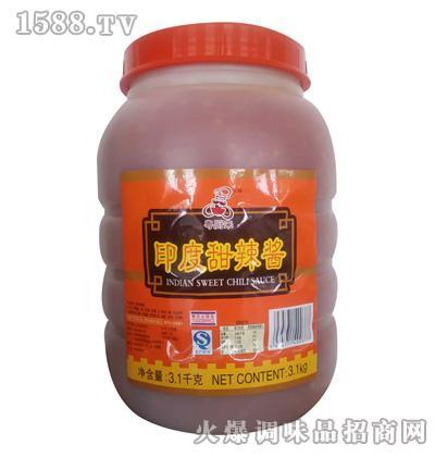 粤厨来印度甜辣酱3.1kg