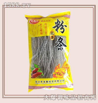 龙盛福红薯粉条250g