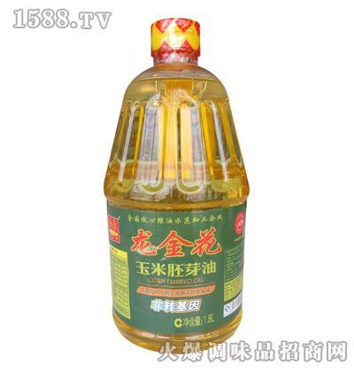 龙金花玉米胚芽油1.8L