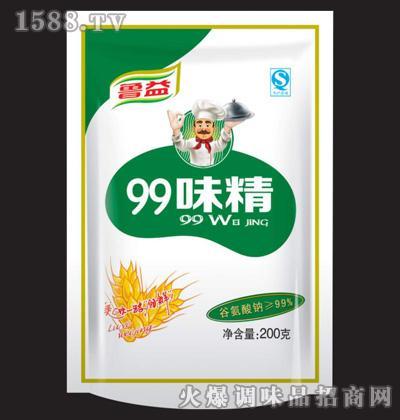 鲁益99味精200g